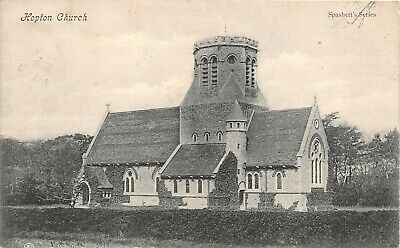 Postcard  Norfolk - Hopton On Sea - Church - Circa 1910 - Rp • 3.80£