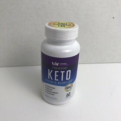 $7.74 • Buy Vital Nutrition Pure Keto Diet Advanced Weight Loss - 60 Capsules