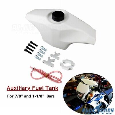 AU72.90 • Buy 7/8 In 1-1/8 In Handlebar Front Auxiliary Fuel Tank For Suzuki DR650 DRZ RM RMZ