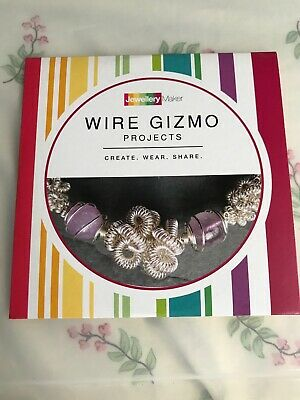 Jewellery Maker DVD PAL: Wire Gizmo Projects • 3.99£