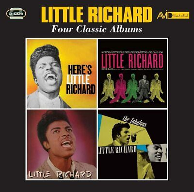 £7.15 • Buy Little Richard - Four Classic Albums (2018)  2CD  NEW  SPEEDYPOST