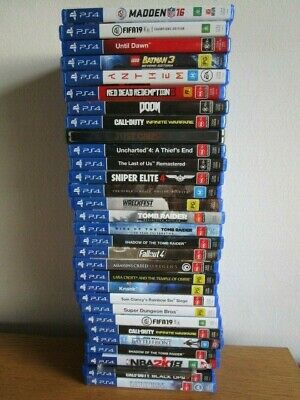 AU18 • Buy PS4 GAMES PlayStation 4 Game  *Choose Your Game*  Ps4 Sony Games VGC** Assorted