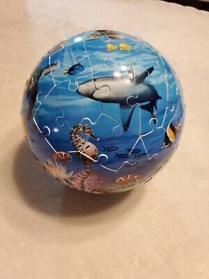 $12.99 • Buy Ravensburger Ocean Puzzle Ball 72 Pieces With Box & Instructions EUC