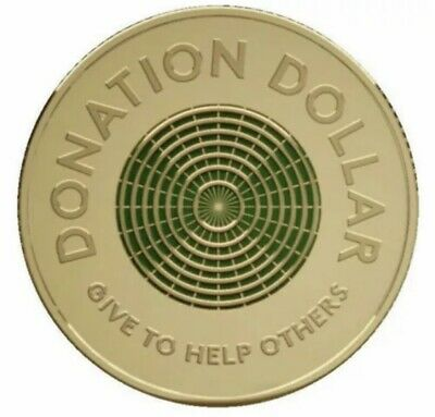 AU3.95 • Buy 2020 Donation Dollar $1 Coin UNCIRCULATED - From Mint Bag