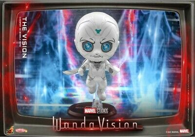 $ CDN49.40 • Buy Hot Toys Wanda Vision The Vision Cosbaby COSB858 Marvel Collectible 100%OFFICIAL