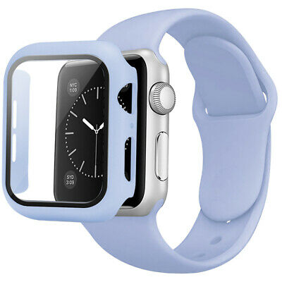 AU9.99 • Buy Durable Silicone Sport IWatch Band Strap + Case Fits Apple Watch 6 5 4 3 2  SE