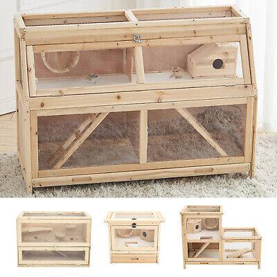 £53.95 • Buy Syrian Dwarf Hamster Cage Mice Rodents Hutch Small Animals Exercise Play House