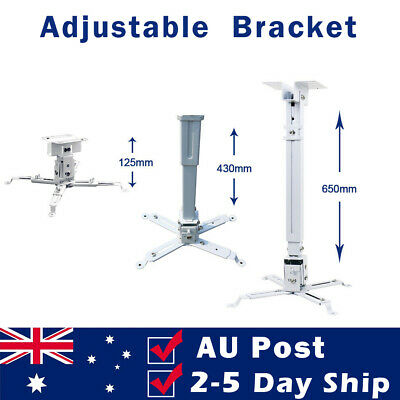 AU39.99 • Buy Extendable Projector Mount Universal Wall Ceiling Bracket With Adjustable Stand