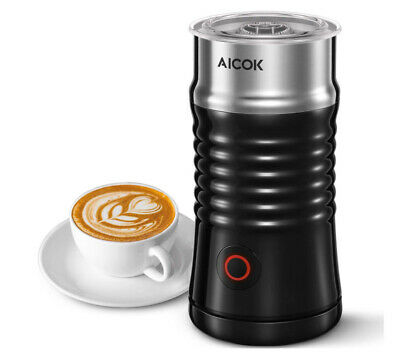 $21.95 • Buy Milk Frother, Aicok Electric Milk Steamer With Hot Or Cold Milk Froth With Doubl