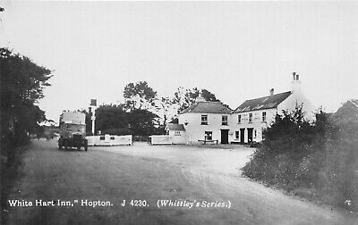 Postcard  Norfolk - Hopton On Sea - White Hart Inn - Vintage Van - Rp • 9.90£