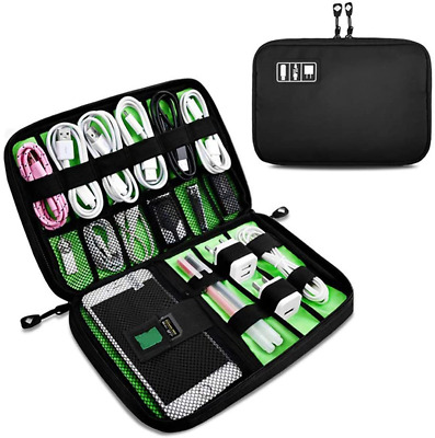 AU16.63 • Buy OrgaWise Accessories Bag Travel Electronics Organiser Cables Case For Power Ect