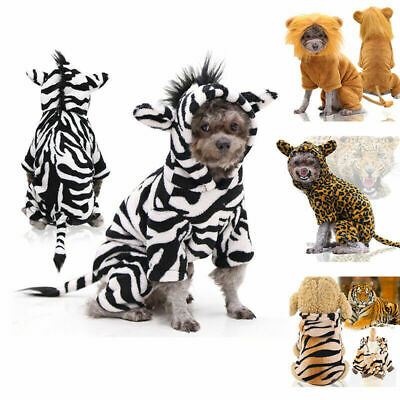£5.46 • Buy Hairy Cute Puppy Dog Jumper Outfit Pet Warm Coat Animal Costume Hoodie Clothes