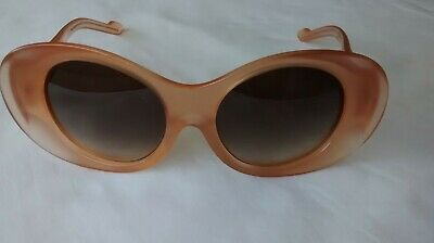 £225 • Buy COURRÈGES LUN BISEAUTEES SUNGLASSES By ALAIN MIKLI In NUDE Model CL 1406 0005 BN
