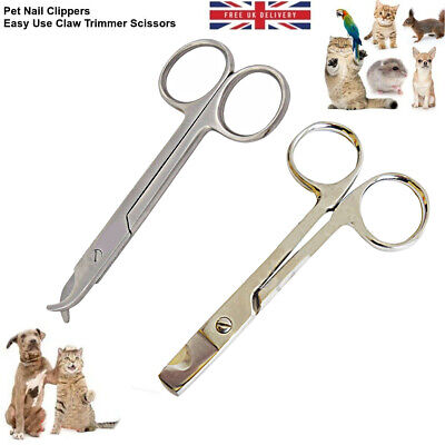 £2.99 • Buy Pet Dog Nail Clippers Cat Rabbit Bird Easy Use Claw Trimmers Scissors