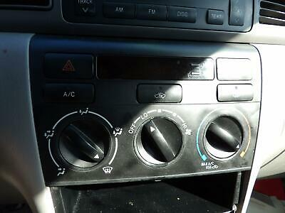 $49.99 • Buy 03 04 05 06 07 08 TOYOTA COROLLA Heater A/c Climate Control OEM