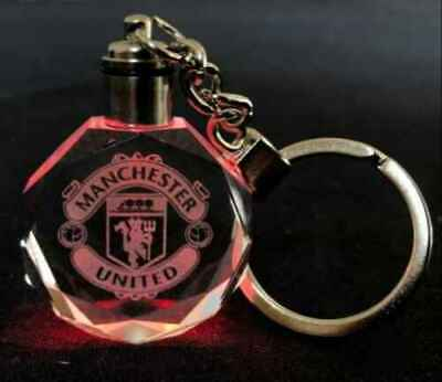 £4.89 • Buy Manchester United FC Crystal Keyring With Gift Box