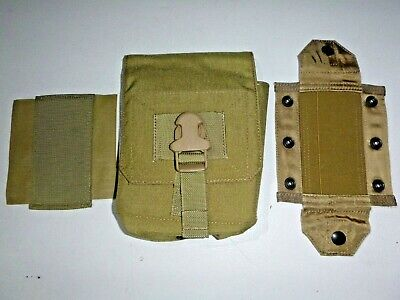 $24.99 • Buy NEW Eagle Industries Khaki Molle M60 Gunners 100-Round  Ammo Pouch W/ Det Top