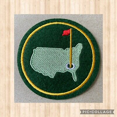 £3.44 • Buy 🇨🇦 Augusta Masters Golf  Embroidered Patch Sew On Stick On #181 🇨🇦