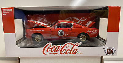 $27.99 • Buy M2 Machines 1:24th Scale Coca-Cola 1965 Shelby GT 350R RC01