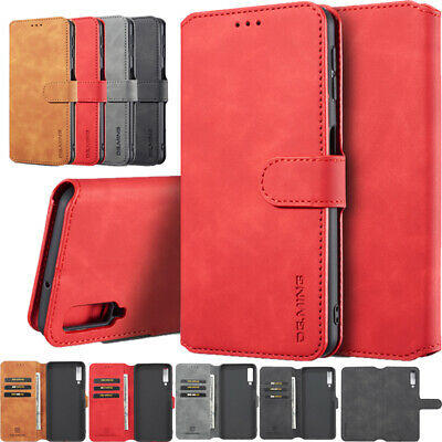 AU10.89 • Buy For Samsung Galaxy A6 A7 A8 A9 A10 A11 J6 2018 J4 Plus Wallet Leather Case Cover