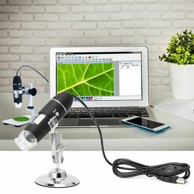 £12.19 • Buy USB 1600X Digital Microscope Camera Endoscope 8LED Magnifier With Hold Stand