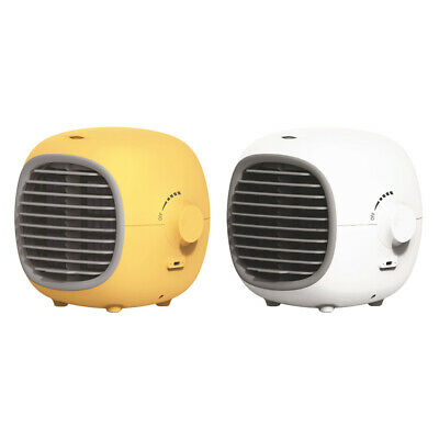 AU46.86 • Buy Mini Air Conditioner USB Personal Unit Cooling Fan Space Humidifier Office