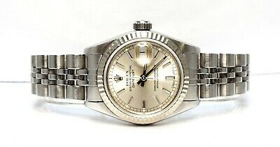 $ CDN6967.73 • Buy ROLEX Datejust 26 -1989 - 69174 - Jubilee - Silver Dial - 26mm - Box And Papers