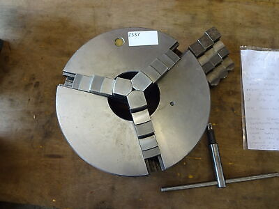 £480 • Buy Bison 12  3 Jaw Self Centring D1-8 3 Jaw Chuck, Colchester Mascot / Harrison