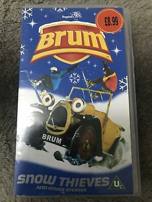 £18 • Buy BRUM SNOW THIEVES AND OTHER STORIES - Childrens VHS VIDEO - 6 Stories