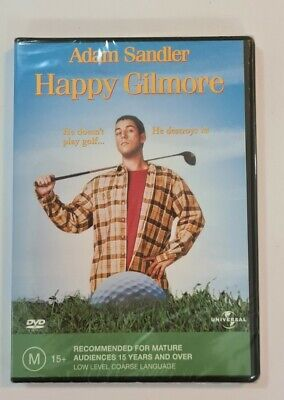 AU12.55 • Buy Happy Gilmore (DVD, 1996) Region 4. Brand New & Sealed. Adam Sandler.