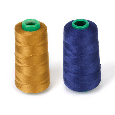 £4.61 • Buy Heavy Duty Polyester Sewing Thread For Jeans Canvas, 3000 Yards/Spool