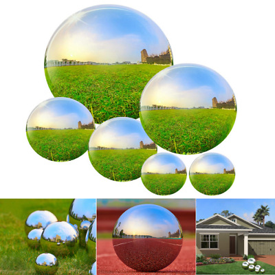 £24.99 • Buy 6 Pcs Stainless Steel Gazing Ball For Home Garden Ornament Decoration Mirror