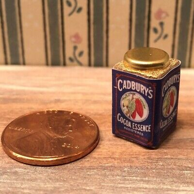 £2.31 • Buy Dollhouse Miniature Beverages 1:12 Cadbury's Cocoa Essence Beverage 1906