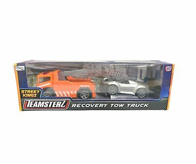 £8.99 • Buy Teamsterz Tow Truck Recovery And Car Scale Model Diecast Metal Toy Gift NEW