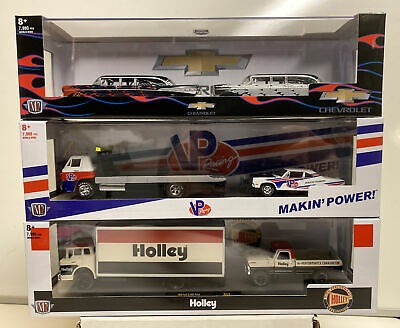 $49.99 • Buy M2 Auto Haulers Release R43 : Complete Set Of 3 VP Racing, Holley, Chevrolet