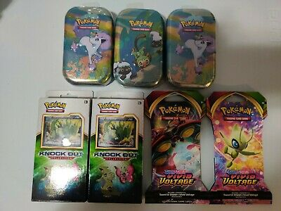 $100 • Buy Pokemon Card Lot ?3mini Tins/2Tyranitar Knock Out Collection And 2 Booster Packs