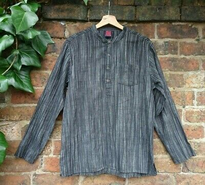£25 • Buy *Cotton Cottage - Authentic Handmade Goodness From India* Grandad Shirt MED
