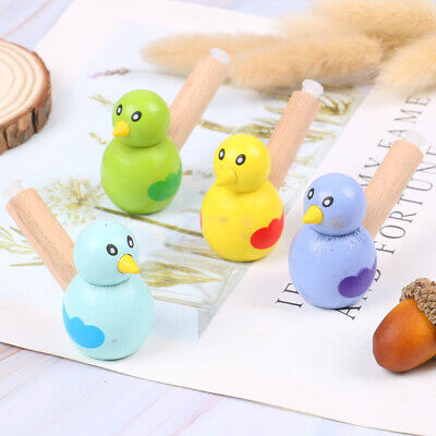 £4.30 • Buy Cartoon Bird Whistle Musical Instruments Toy Children Wooden Educational ToysPT