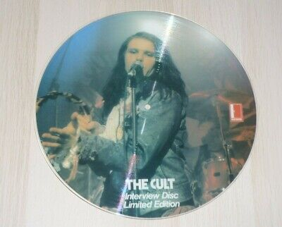 The Cult 12  Interview  Picture Disc  • 10£