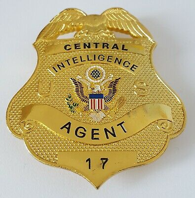 £18.99 • Buy Obsolate Historical Usa Police Badge ....Intel Agent No.17