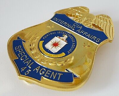 £18.99 • Buy Obsolate Historical Usa Police Badge ....Intel Agent No.45