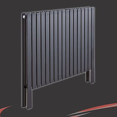 £297 • Buy 820mm(w) X 800mm(h)  Axim  Double Floor Standing Anthracite Radiator 34 Sections