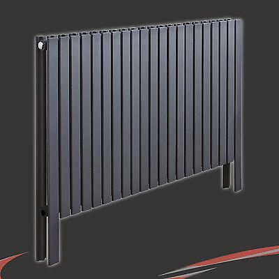 £318 • Buy 1000mm(w) X 800mm(h)  Axim  Double Floor Standing Anthracite Radiator 42 Section