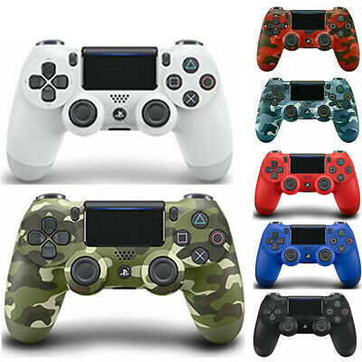 New PlayStation Dualshock 4 V2 Wireless Controller- Black Camo White Blue (PS4) • 22.66£