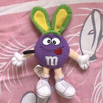 $9 • Buy Galerie Purple M&M Easter Plush Toy With Bunny Ears