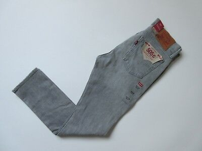 £18.16 • Buy NWT Levi's 505 C In Burn Rubber Gray Destroyed Straight Stretch Jeans 29 X 30