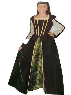 $26 • Buy Child Maid Marion Costume Medevial Green Size Med Or Large