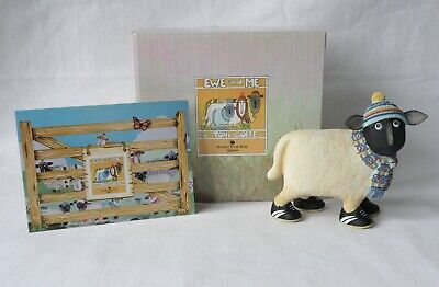£14.99 • Buy Border Fine Arts Ewe & Me  Hamish  The Sheep. Wooly Hat, Scarf Toni Goffe. Boxed