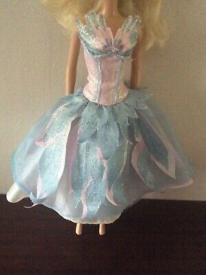 £6 • Buy Barbie Swan Lake Odette Sparkly Glitter Dress Clothes Fashion Gown Outfit
