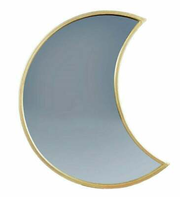 £9.99 • Buy Sass & Belle Crescent Moon Shaped Gold Mirror Wall Bedroom Home Decor Celestial